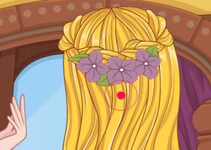 coiffure tresse pour raiponce sur jeux fille gratuit