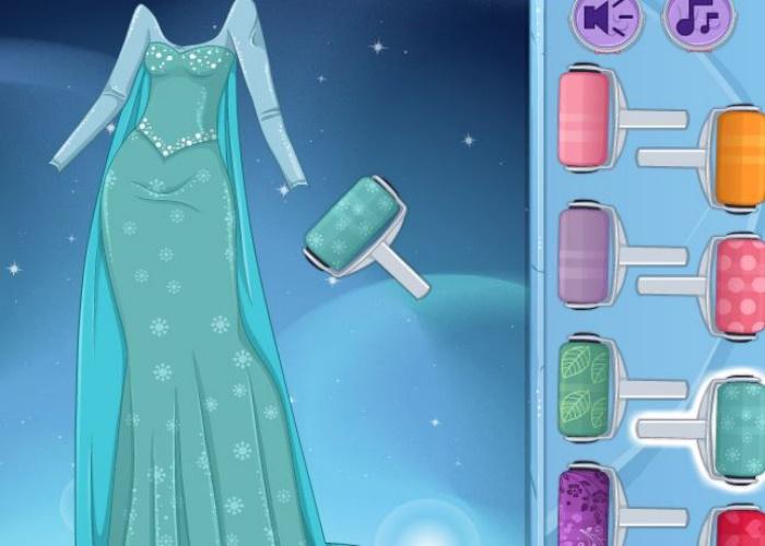 Elsa Frozen en tenue Manga