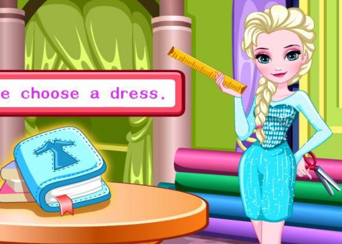 Robe de promo pour Elsa