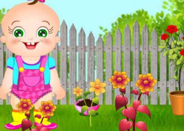 Rosy jardinière