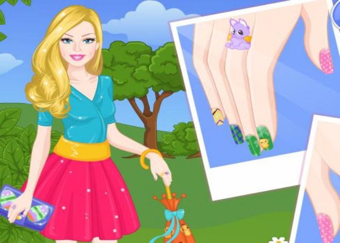 Jolis ongles de Pâques