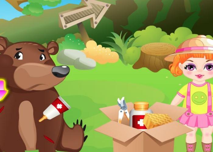 Nana et les animaux du zoo