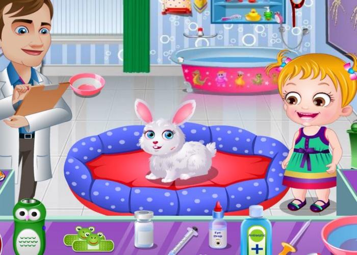 hazel et les animaux bless s sur jeux fille gratuit. Black Bedroom Furniture Sets. Home Design Ideas