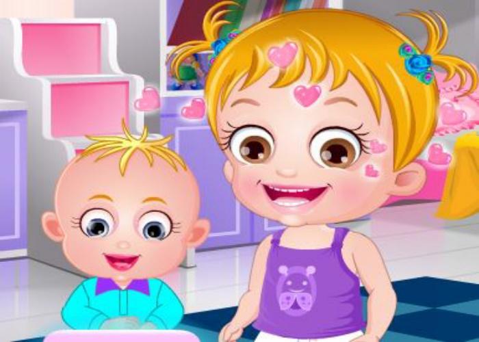 Hazel et son frère Matt