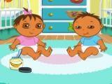 Dora s'occupe de bébé