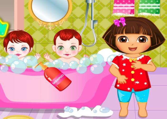 Dora baby sitter