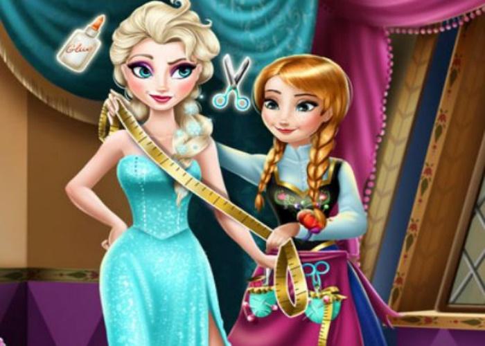 Anna Frozen coud pour Elsa