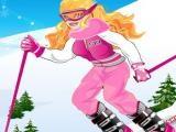 Habillée pour skier