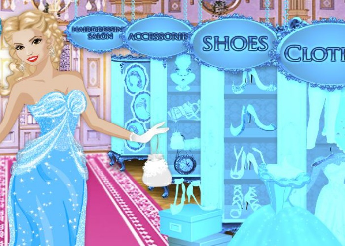 Cendrillon fait du shopping