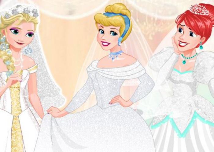 Les princesses se marient