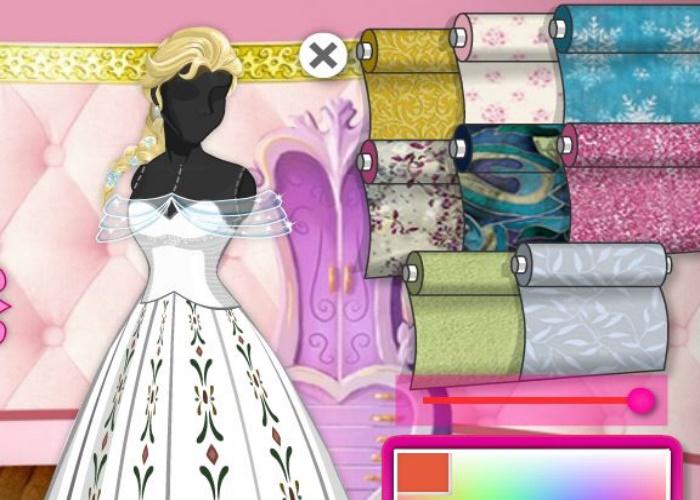 Une robe de princesse Disney