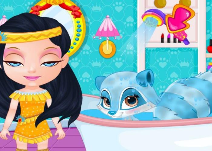 Laver les animaux de palace sur jeux fille gratuit - Jeux fille 6 ans gratuit ...