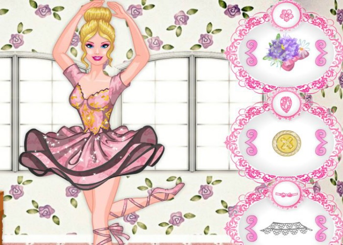Styliste de tenue de danseuse