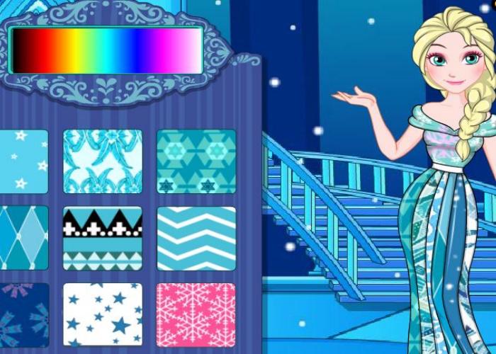 Robe en patchwork pour Elsa