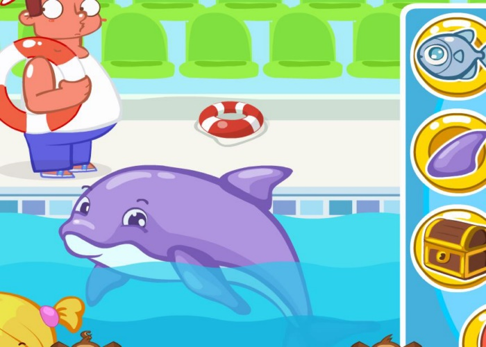 S'amuser avec les dauphins