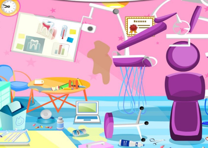 bazar chez le dentiste sur jeux fille gratuit. Black Bedroom Furniture Sets. Home Design Ideas