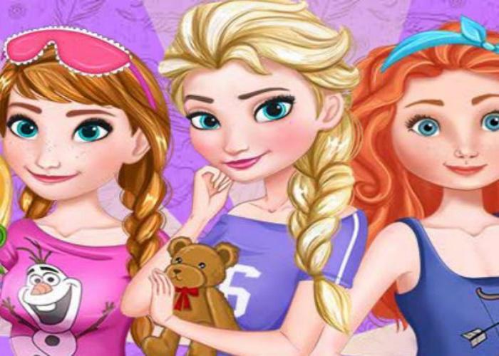 Pyjama party pour Elsa