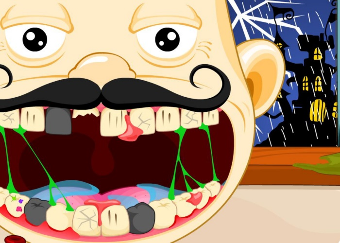 Crazy dentiste Halloween