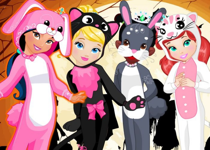 Princesses en costume d'animal