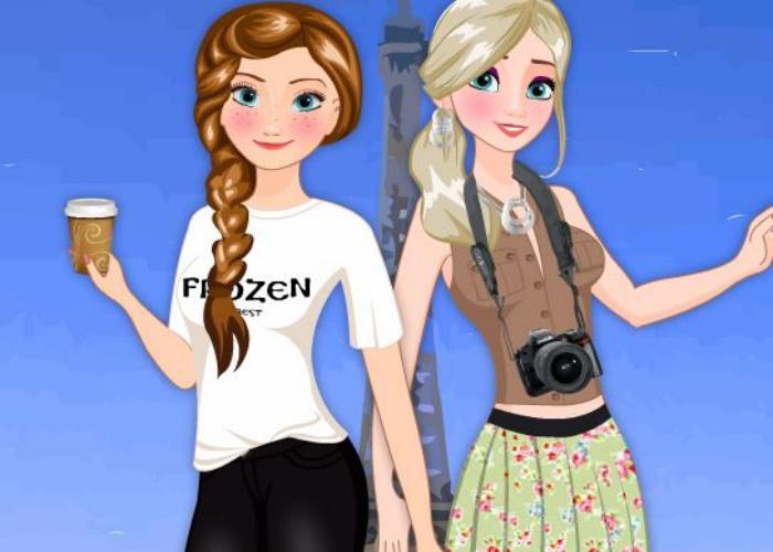 Les soeurs Frozen en Europe