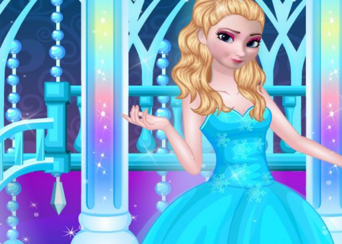 Elsa Frozen au bal