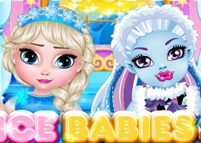 Bébé Elsa et bébé Abbey