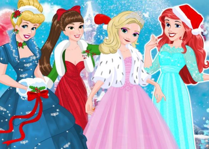 Veille de Noel chez les princesses