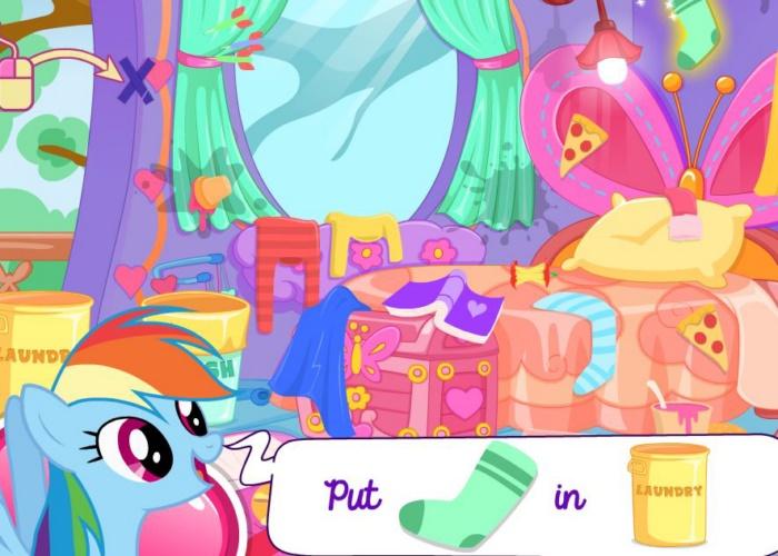 Chambre de petit poney sur jeux fille gratuit - Jeux de decoration de chambre gratuit ...
