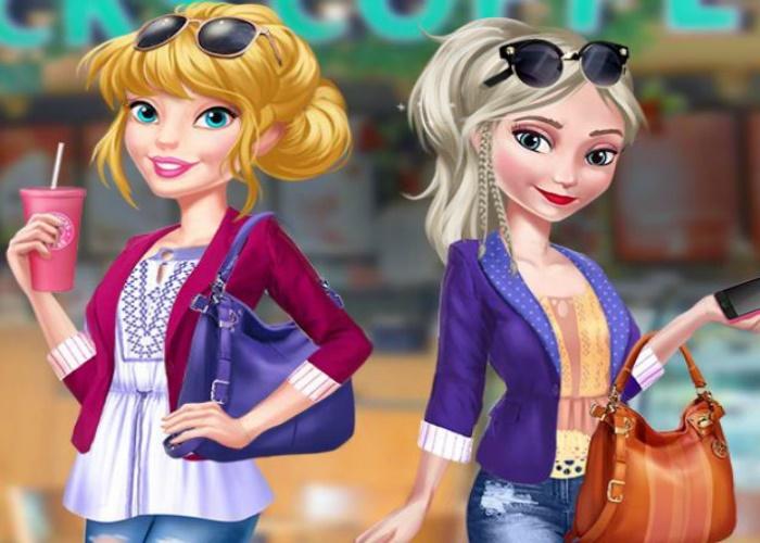 Barbie et Elsa meilleures amies