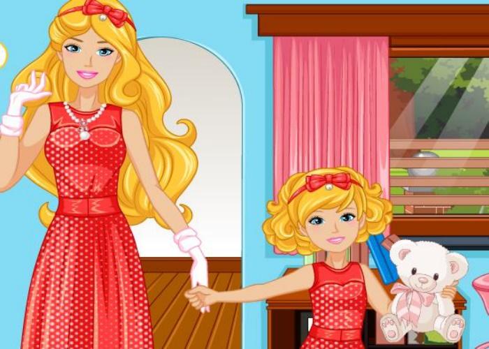 M mes robes m re fille sur jeux fille gratuit - Robe mere fille ...