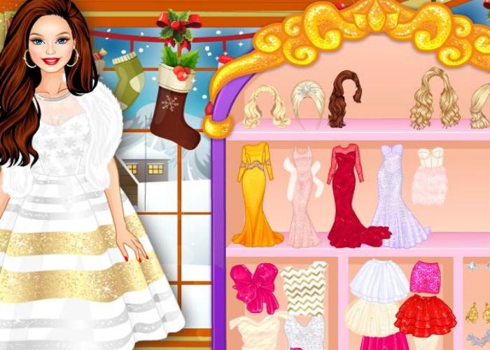 Robe de princesse pour Nouvel An