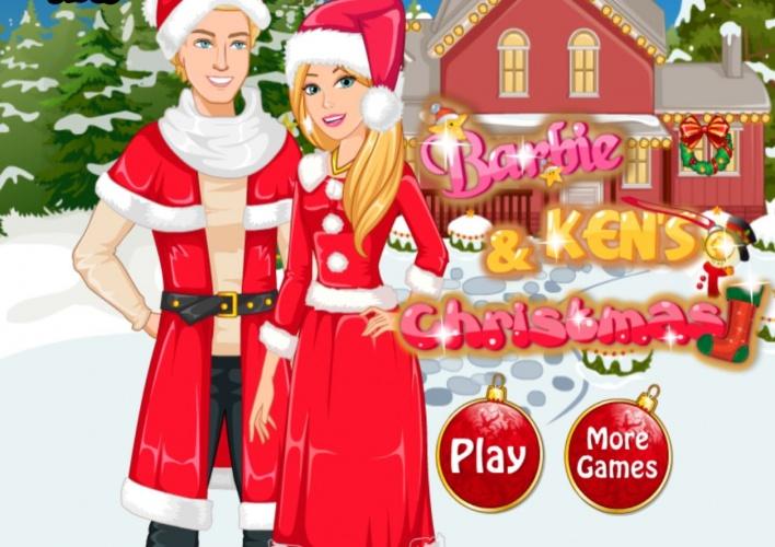 Noel de barbie et ken sur jeux fille gratuit - Jeux de barbie enceinte gratuit ...
