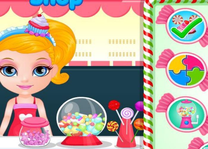S'amuser avec des bonbons !