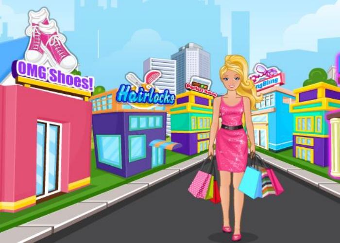 Shopping de folie barbie sur jeux fille gratuit - Jeux de fille gratuit barbie ...