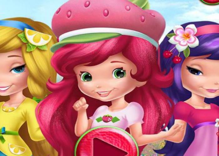 Jeux de fille charlotte aux fraises - Habiller des filles gratuit ...