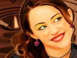Nouveau jeu avec Miley Cyrus