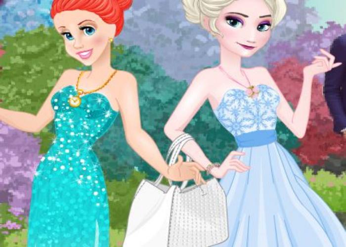 Ariel et Elsa ont rendez vous
