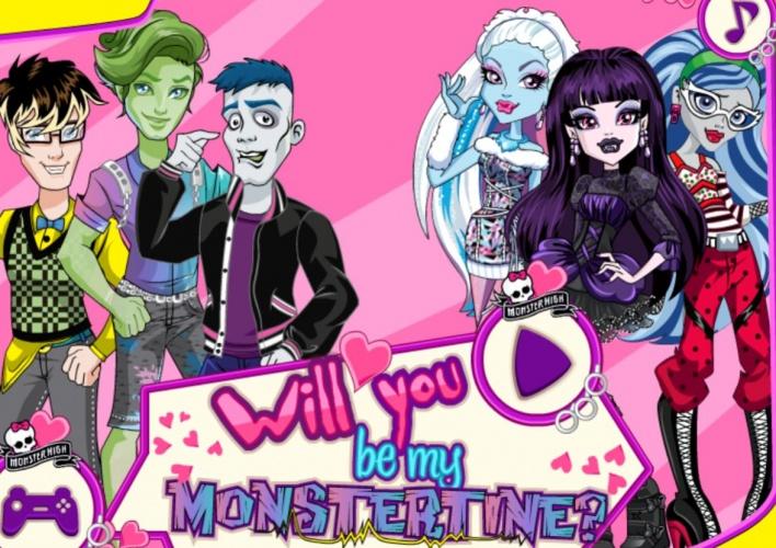 Un Valentin pour les Monster