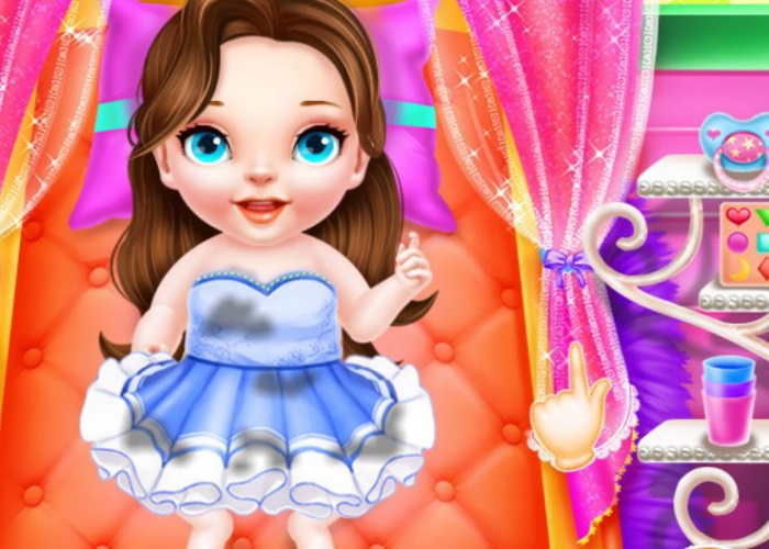 Garder les bébés princesses