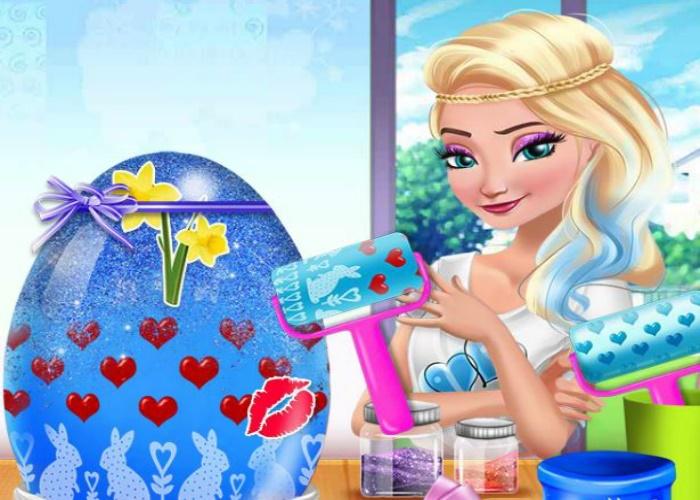 Pâques entre princesses