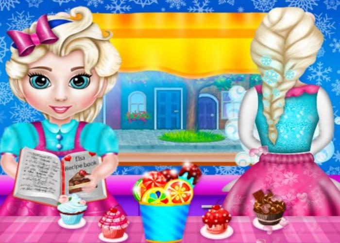 Bébé d'Elsa gourmand