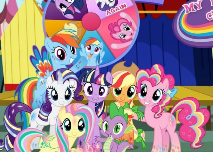 Au cirque des petits poneys