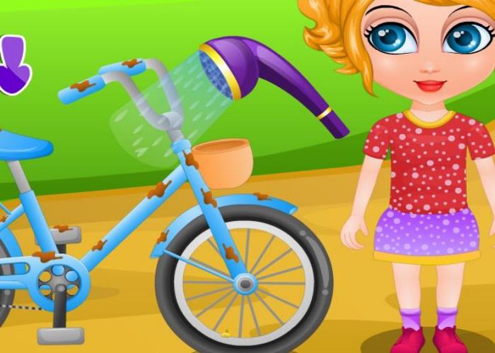 Aventures de Sana en vélo