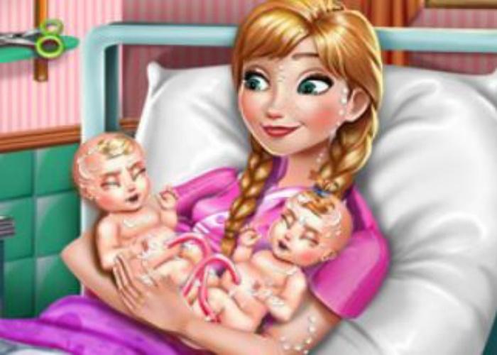 Anna maman de jumeaux
