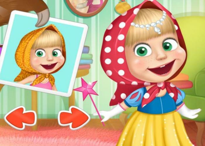 Masha veut être princesse