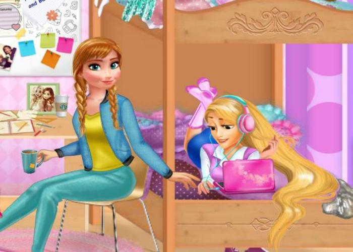 Vie de princesses étudiantes