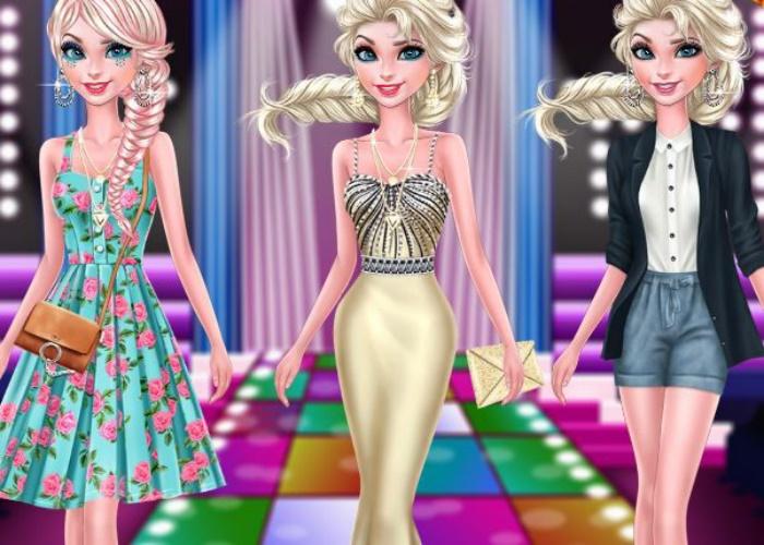 Elsa sur le tapis rouge
