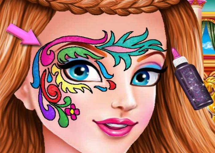 Une princesse colorée