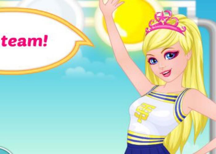 Belle pom pom girl