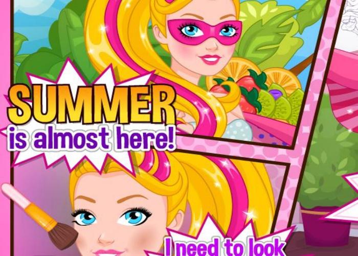 Barbie super h ros en t sur jeux fille gratuit - Jeux de barbie enceinte gratuit ...